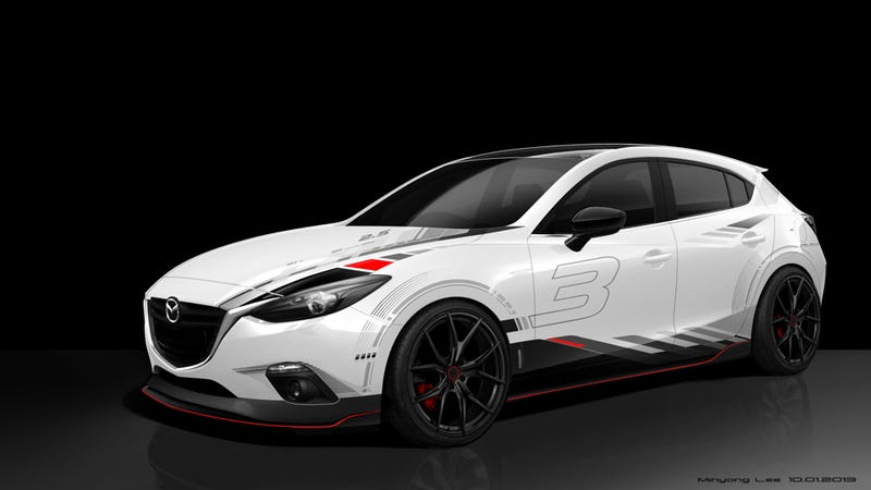 Illustration for article titled These Are Mazda's Agressive Yet Stylish SEMA Concept Cars