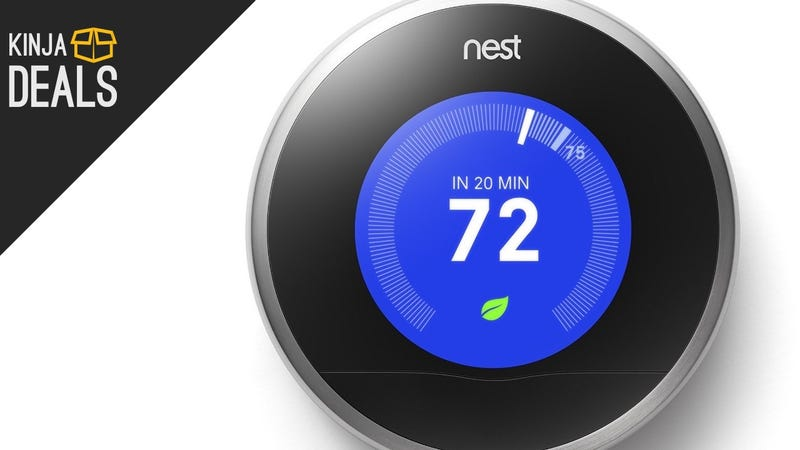 Illustration for article titled Save $80 On The Second Generation Nest Thermostat