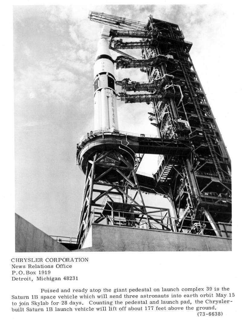 Illustration for article titled Saturn-IB, My Kind of Chrysler
