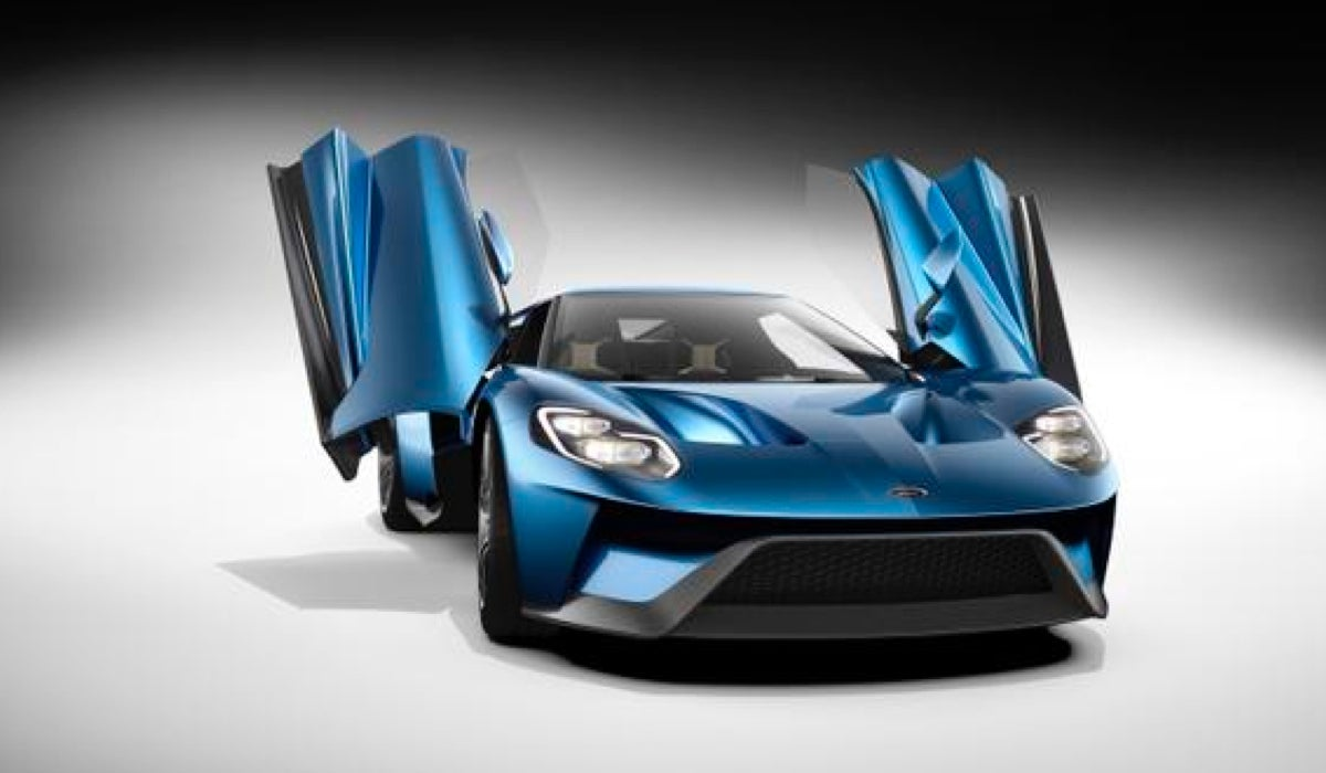& Look At These Doors On The Ford GT Holy Hell Look At These Doors Pezcame.Com
