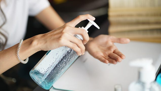 The TSA Now Allows 12 Oz. of Hand Sanitizer in Carry-On Luggage