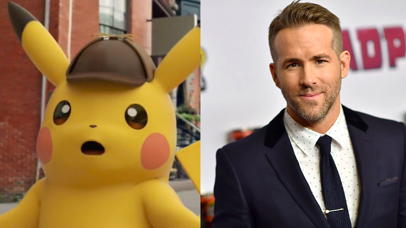 Ryan Reynolds Is Your Detective Pikachu