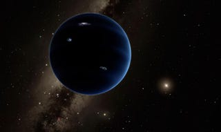 Artist's rendering of what the sky might look like from Planet 9. Image: Caltech/R. Hurt (IPAC)