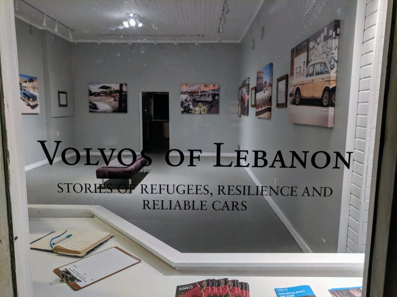 Illustration for article titled New Art Exhibit in the Village: Volvo's of Lebanon