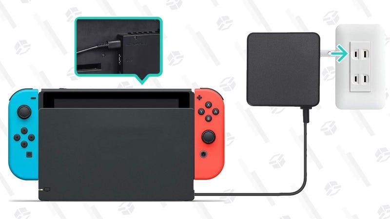 AmazonBasics Nintendo Switch AC Adapter | $14 | Amazon