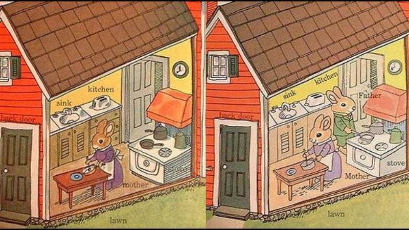 Illustration for article titled Here's how Richard Scarry books have been updated for more P.C. times