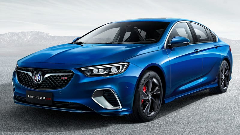 Illustration for article titled Of Course The New Buick Regal GS Will Be Hot