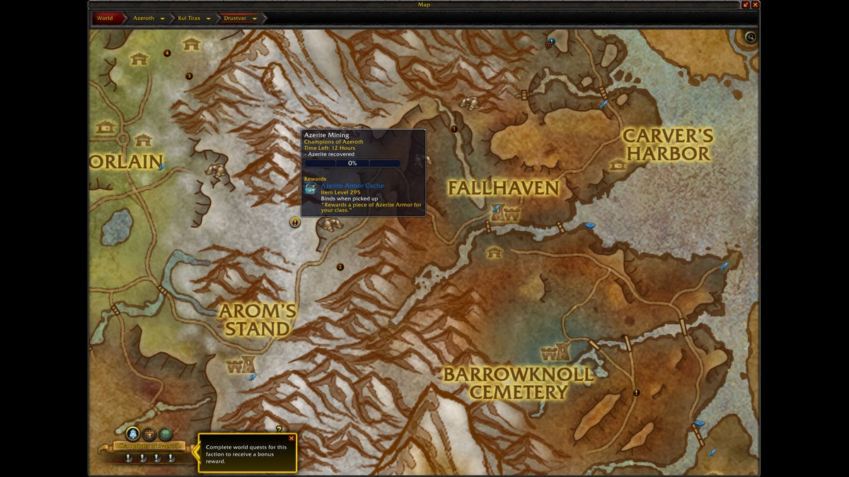 Battle For Azeroth Level Cap Reached, What Now?