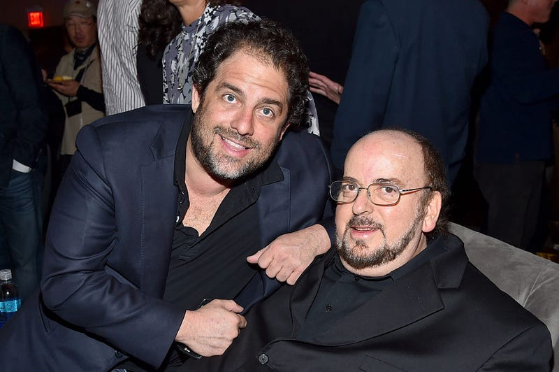Yes, that's Brett Ratner with James Toback (Photo: Alberto E. Rodriguez/Getty Images)