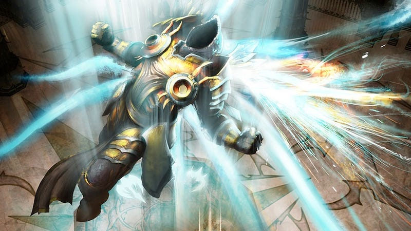 Illustration for article titled Diablo III Used To Look A Lot More Like An MMORPG