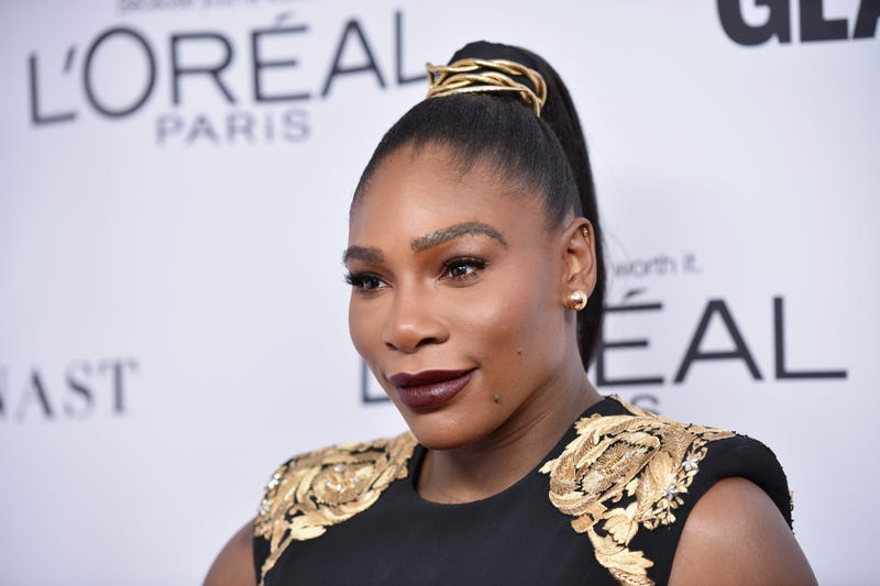 Serena Williams attends Glamour's 2017 Women of the Year Awards at Kings Theatre on Nov. 13, 2017, in Brooklyn, N.Y.