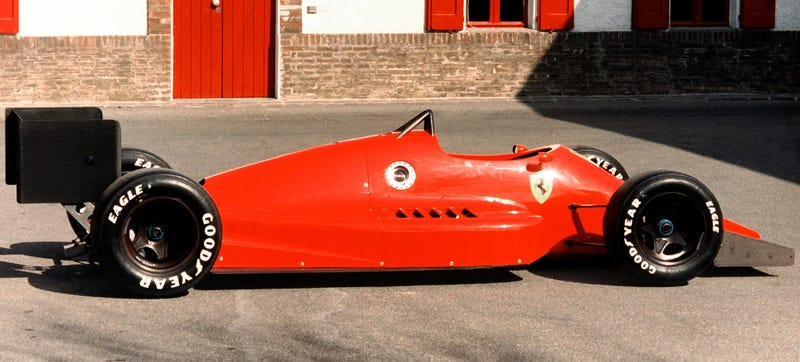 These photos are of unknown provenance, though we continue to try to track down their source. Ferrari declined to comment on where they may have come from. Via Motorsport Retro