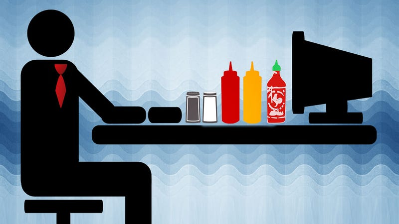 Illustration for article titled Stock Your Office Drawer with Everything You Need for Tastier Work Lunches