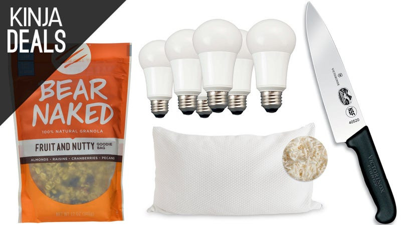 Illustration for article titled Sunday's Best Deals: Chef's Knife, Latex Pillows, Granola, and More