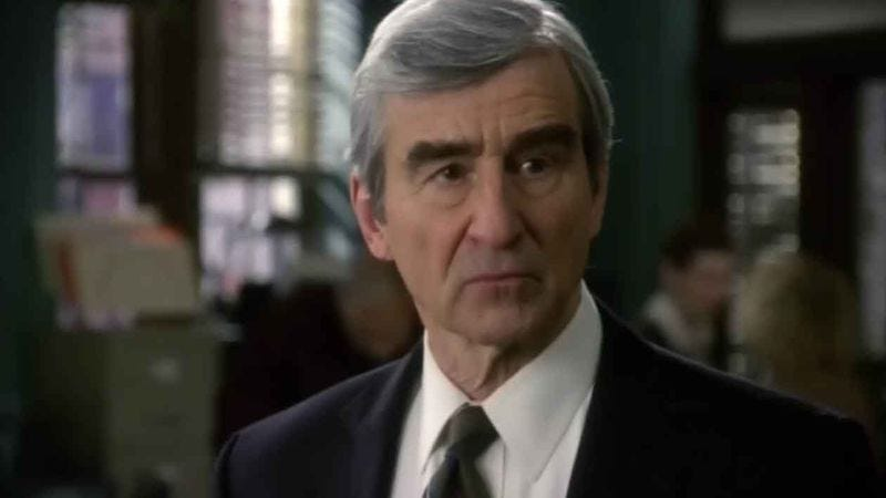 Illustration for article titled Sam Waterston will be the quietly stern Sam Waterston-type in Aaron Sorkin's HBO pilot