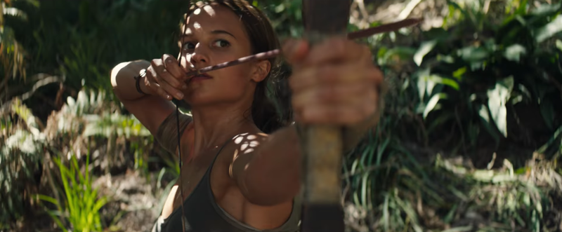Illustration for article titled The New Tomb Raider Movie Is Nothing Special