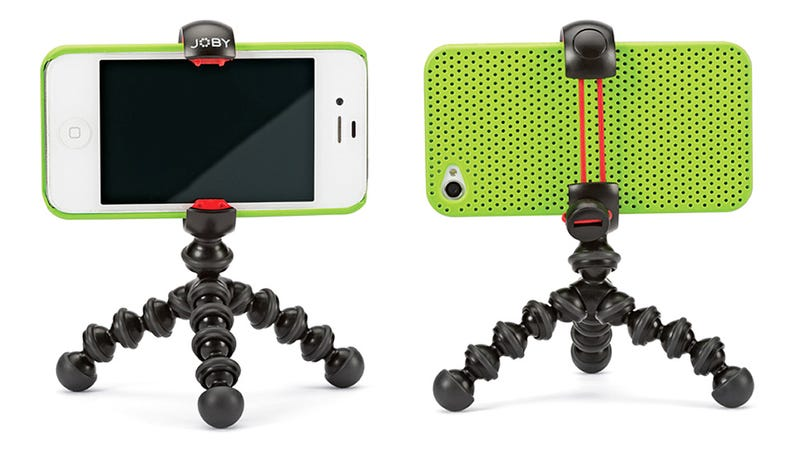 Illustration for article titled A Tiny Flexible Tripod For Perching Your Smartphone Anywhere