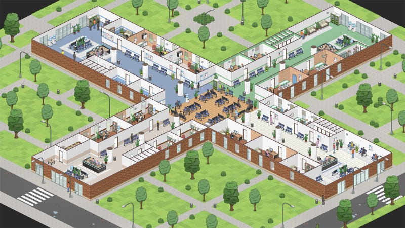 Illustration for article titled Someone's Making A Spiritual Successor To Theme Hospital