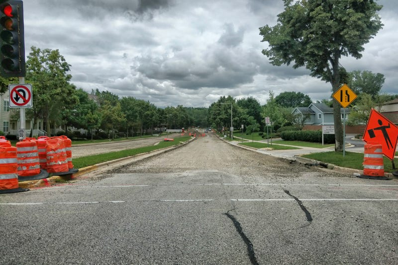 Illustration for article titled This is what passes for acceptable road construction planning in Madison, WI