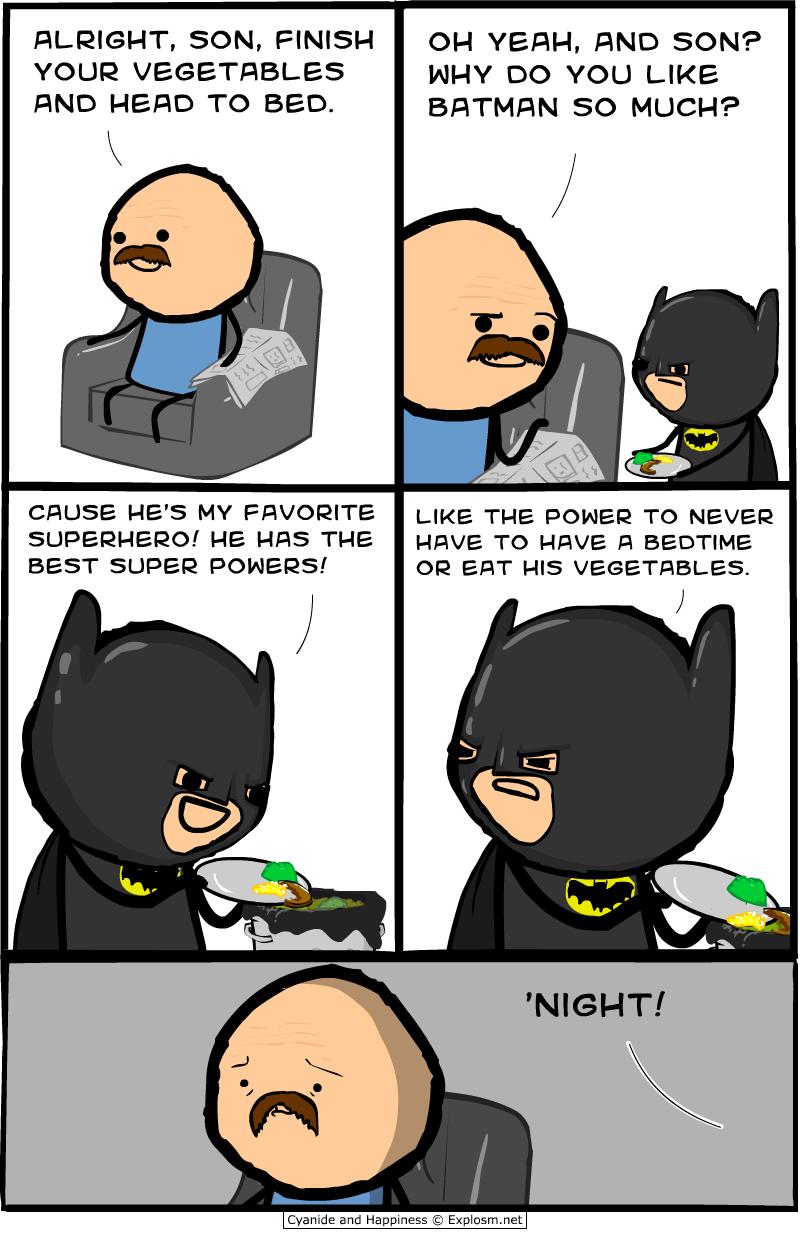 Illustration for article titled Batman