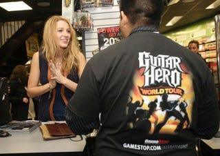 Illustration for article titled Guitar Hero: World Tour Launch Event Celebrigasm