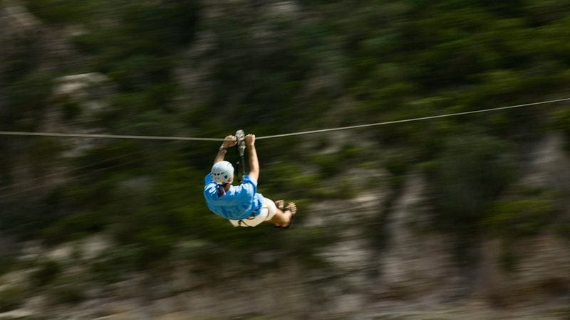 The Byers' exciting zip-lining adventure will absolutely make years of barely withheld contempt and psychosexual frustration dissolve almost instantaneously.