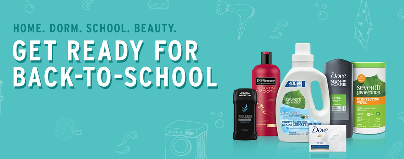 Spend $35 on Back to School personal care items, get a $10 Amazon gift card