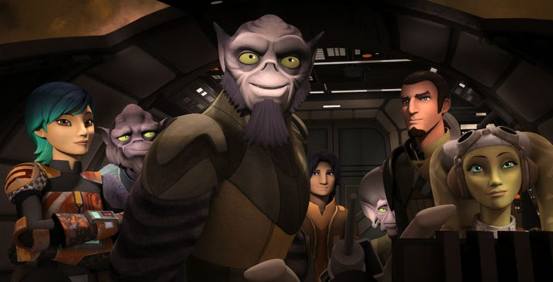 Illustration for article titled A New Interpretation Of The Force Was Revealed On ATrippy Star Wars Rebels