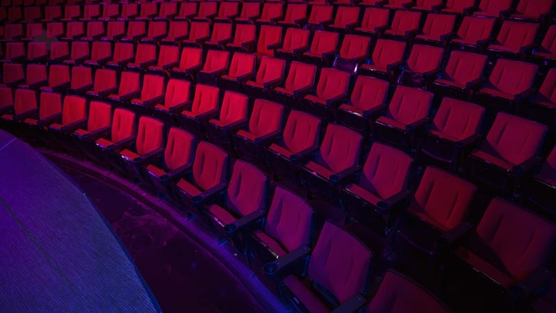 theater chains is stripping out their existing theater seats and