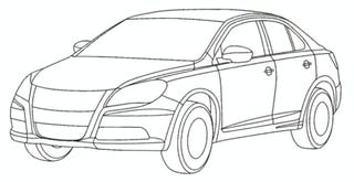 Illustration for article titled Suzuki Kizashi Images Leaked; Crayola Exterior Color Scheme Suspected