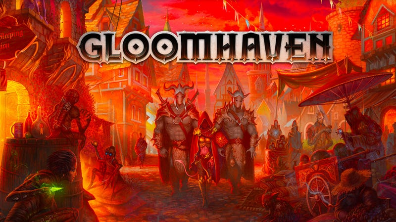 Illustration for article titled Gloomhaven Is Coming To Video Games