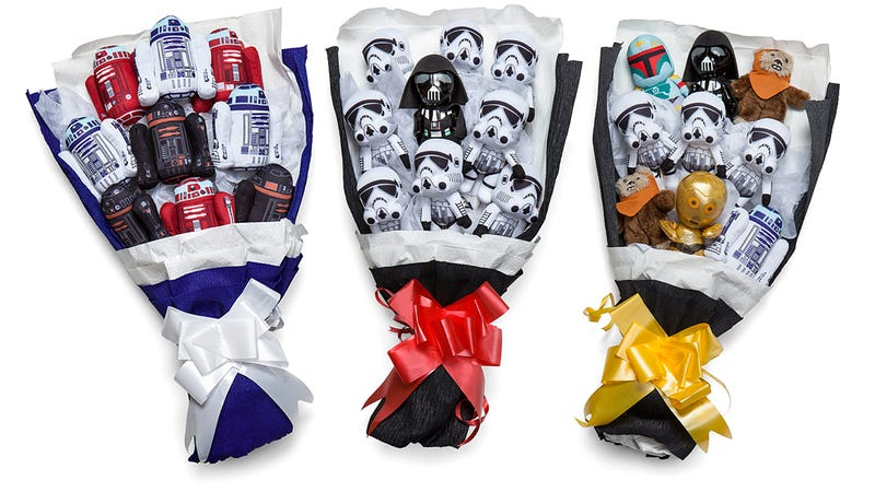 Illustration for article titled A Stormtrooper Bouquet Is an Even Better Way to Say 'I Love You (and Star Wars)'