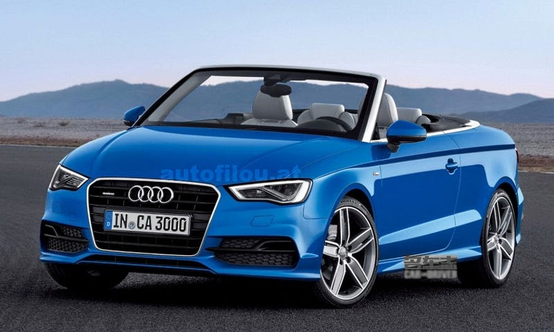 Illustration for article titled Are You The 2015 Audi A3 Cabriolet?