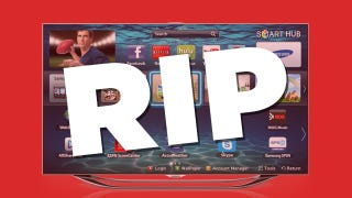 Illustration for article titled 3D TV Is Dead. Let's Hope Smart TV Is Next.