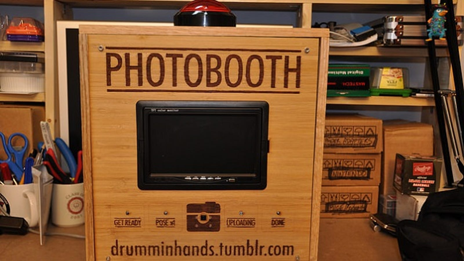 Make your own photo booth with a raspberry pi solutioingenieria Choice Image
