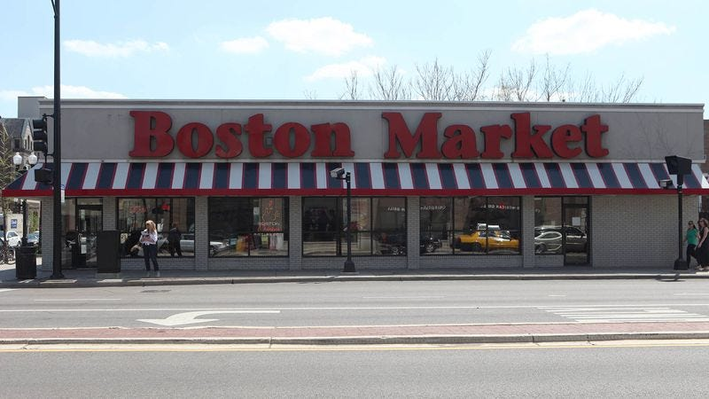 "Boston Market CEO George Michel says the restaurant's mantra is ""How do we make it more nauseating?"""
