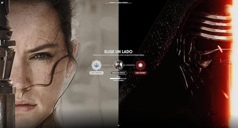 Illustration for article titled Elige lado de la Fuerza con las skins para los servicios de Google de Star Wars