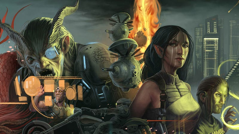 Illustration for article titled The New Shadowrun Game is a Little Old, a Little New