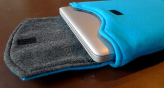 Illustration for article titled Hello Rewind Transforms Your Old T-Shirts Into Laptop Sleeves