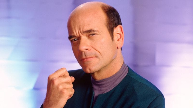 Illustration for article titled Veteran character actor Robert Picardo on his work in and out of the makeup chair