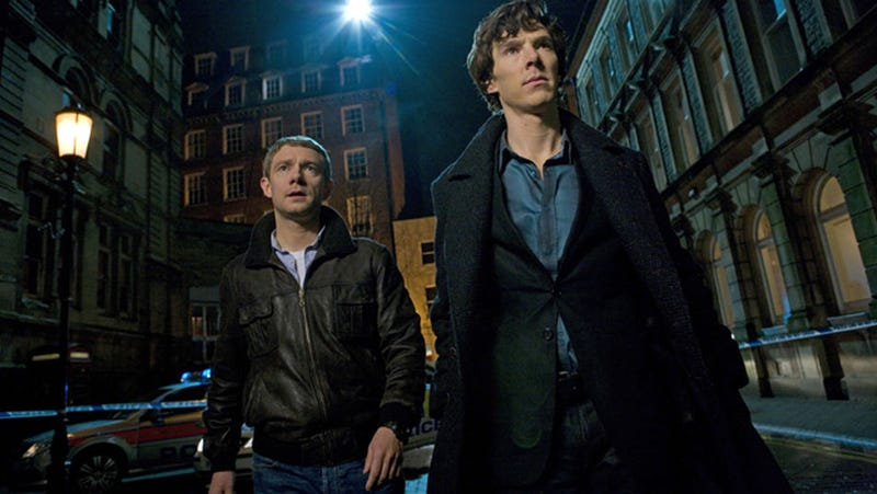 Illustration for article titled Watching Sherlock repeats tonight? You could find a clue for Series 3!