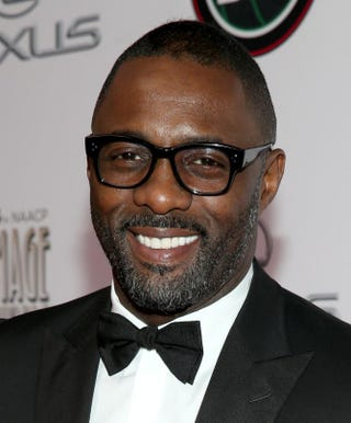 Idris Elba attends the 45th NAACP Image Awards in Pasadena, Calif., Feb. 22, 2014.  Imeh Akpanudosen/Getty Images for TV One