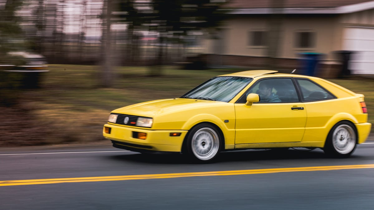 Not-New Review: The Volkswagen Corrado G60 Is Flawed But