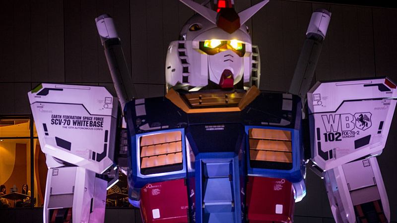 Image: The RX-78-2 in 2014. Chris McGrath/Getty Images