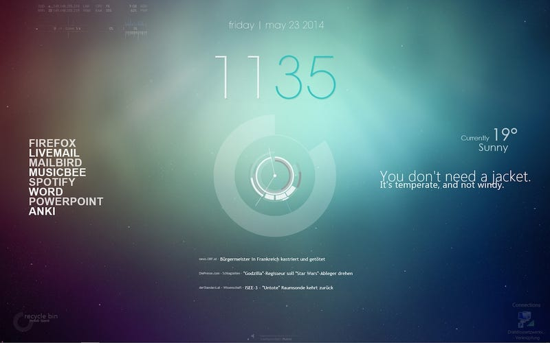 Illustration for article titled The Fusion Desktop