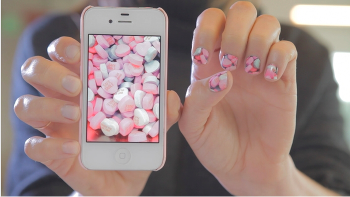 This App Would Turn Your Phone Photos Into Personalized Nail Art