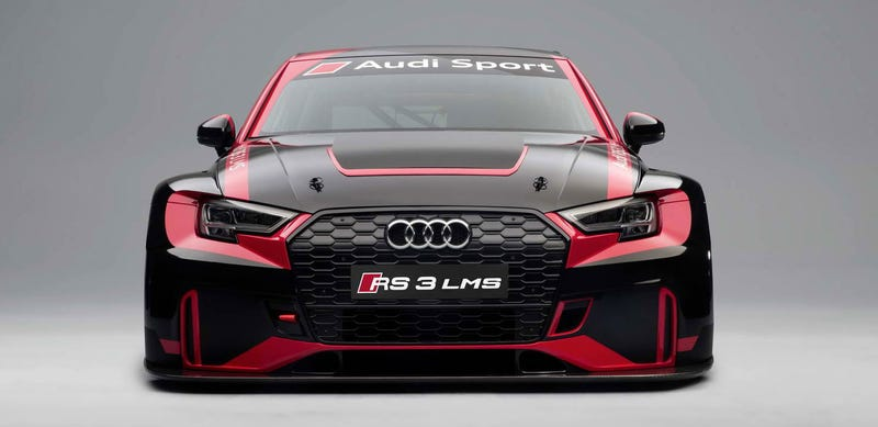 The Audi Rs3 Lms Is One Of The Cheapest Ways To Get A Real