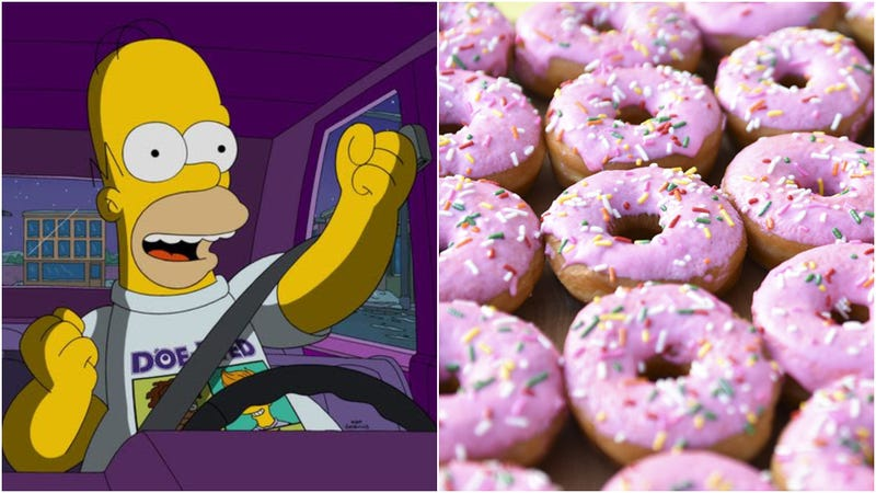 Illustration for article titled Why did it take so long to mass produce a Simpsons doughnut and why is it only in Australia?