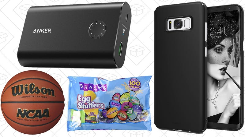 Illustration for article titled Today's Best Deals: Easter Candy, $4 Phone Cases, Free Chipotle Guac, and More