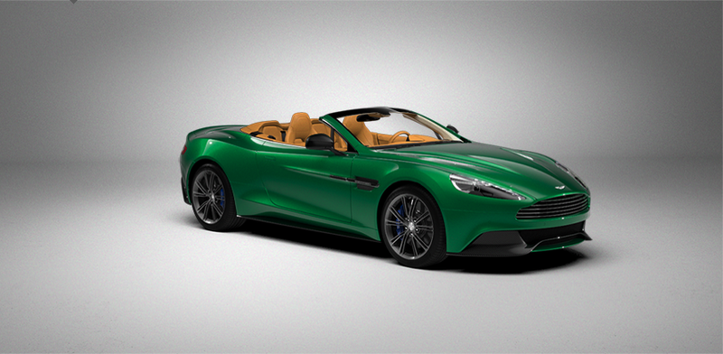 Illustration for article titled Let's See Your Configurations of the New AM Vanquish Roadster